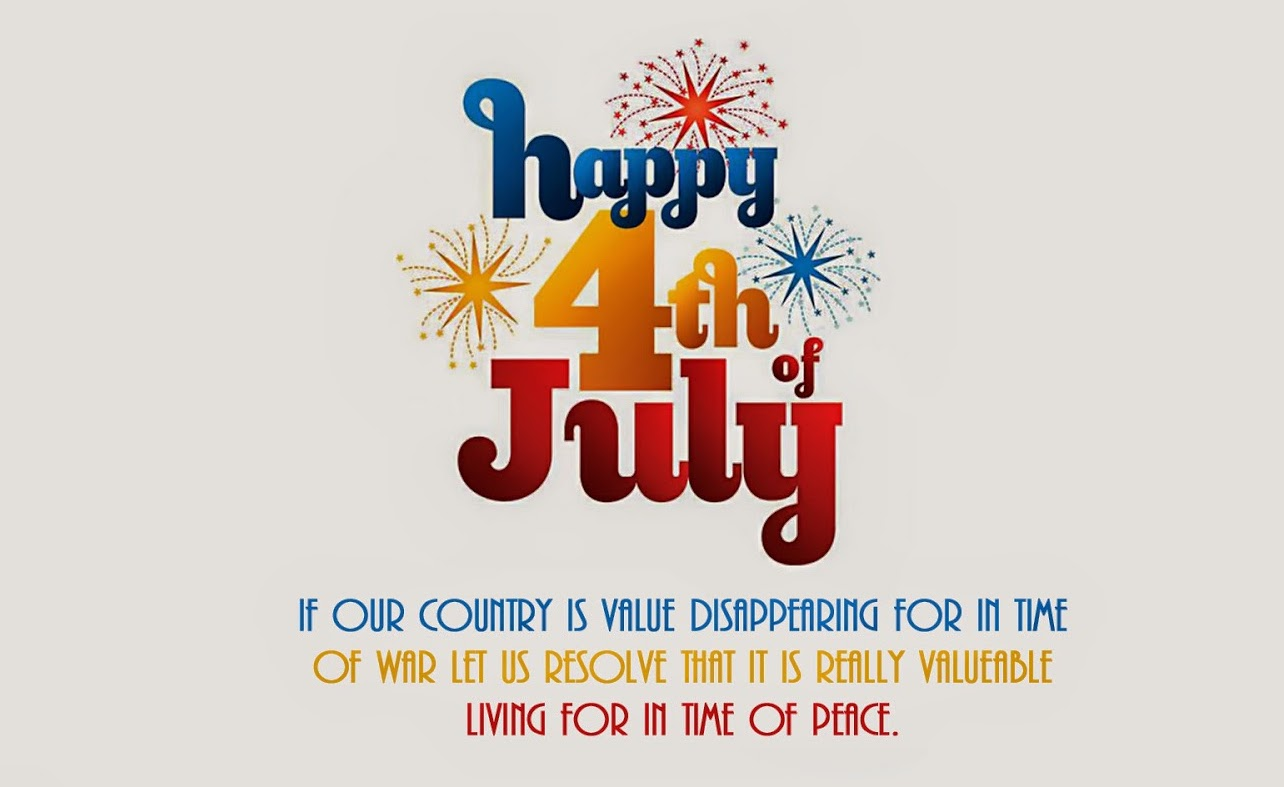 Happy 4th of July Vector Graphics Image