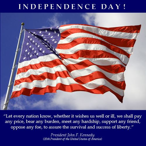 Independence Day 4th of July Patriotic Short and Clever Quotes and Sayings