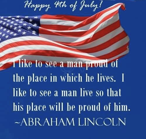 Famous Quotes about the Independence Day USA 4th July