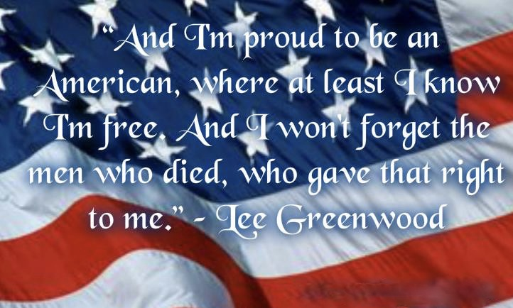 I am proud to be an American Quotes Images