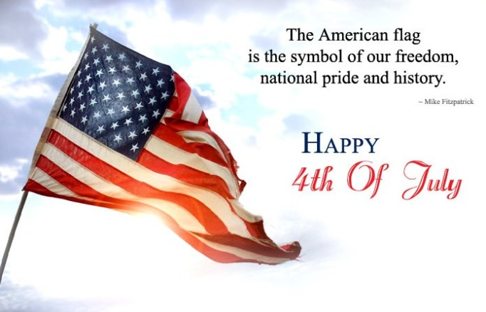 Happy 4th Of July Quotes Images American Flag