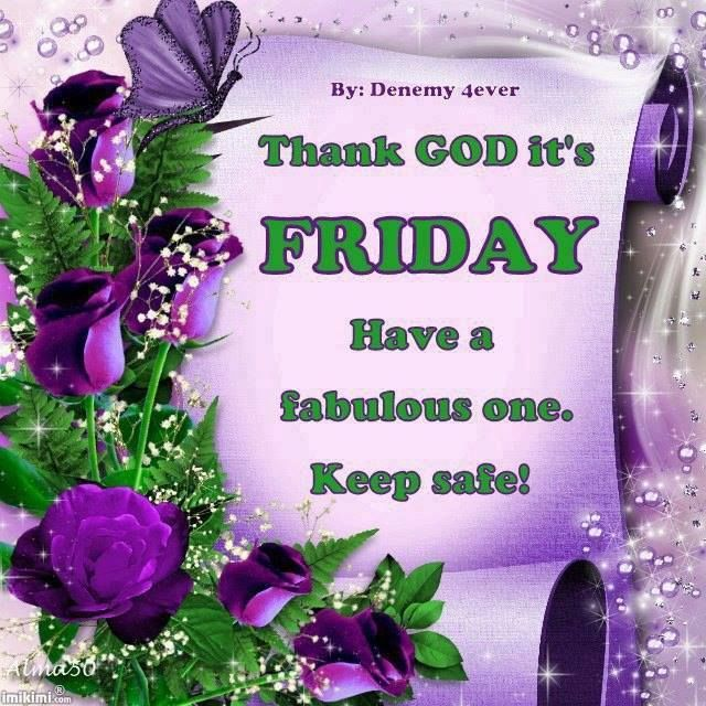 Blessed Friday Thank God It's Friday Image