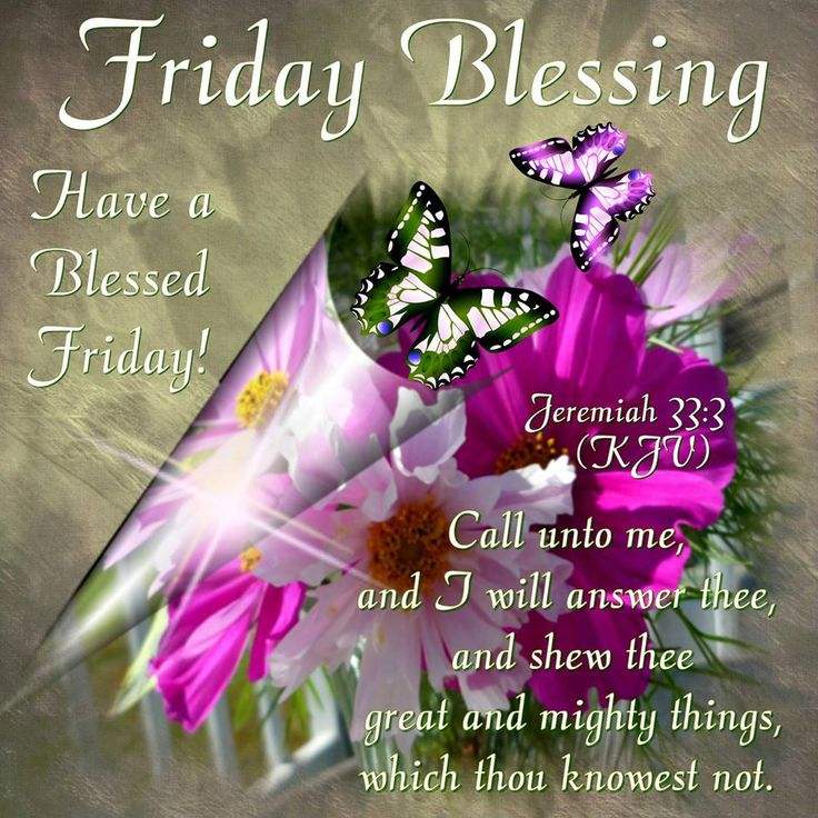 Friday Blessing Have a Blessed Friday Sayings Images