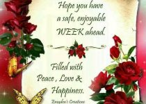 Good Morning Happy Monday Have a Great Week Ahead Wishes Greetings Photos