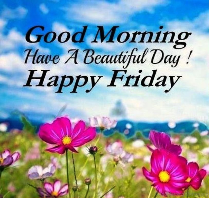 Happy Friday Good Morning Have a Beautiful Day Images