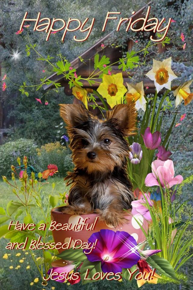 Happy Friday Have a Beautiful Blessed Day JESUS loves you Image