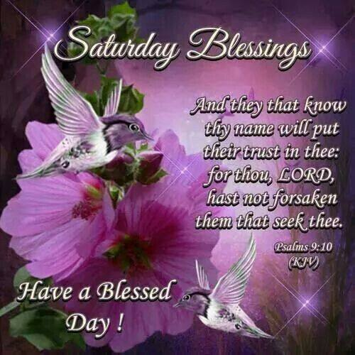 Have a Blessed Saturday Blessings Sayings Images