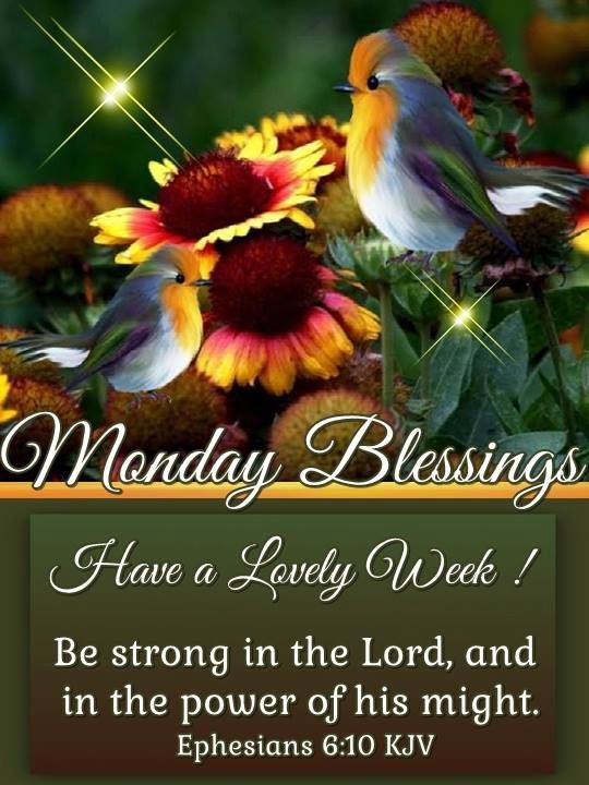 Monday Blessings Have a Lovely Week Images