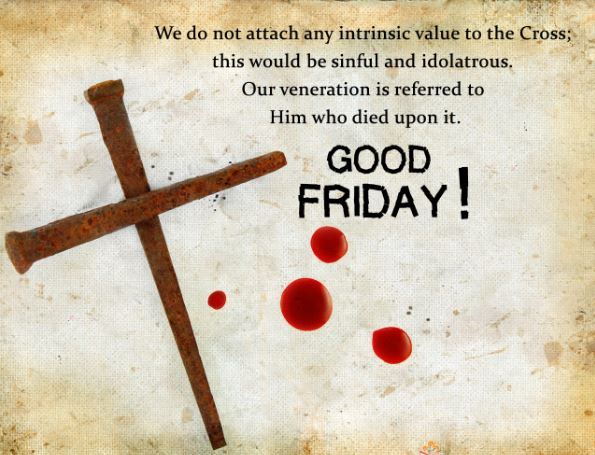 Good Friday Images Pictures with Quotes Blessings
