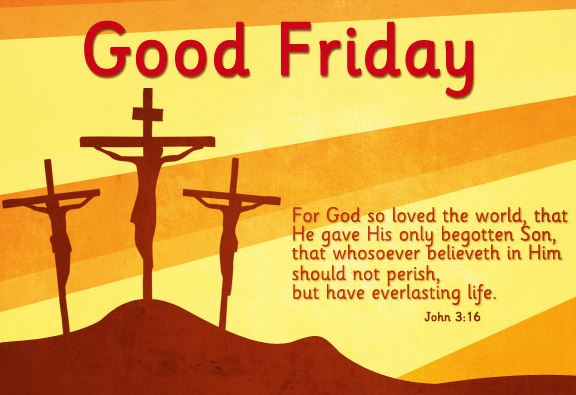 Good Friday Jesus Christ Cross Images with Quotes Pictures