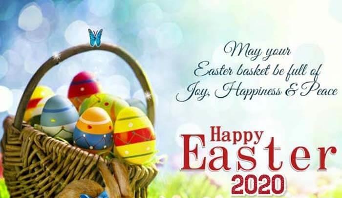 Happy Easter Basket Images Pictures for Social Media Platforms