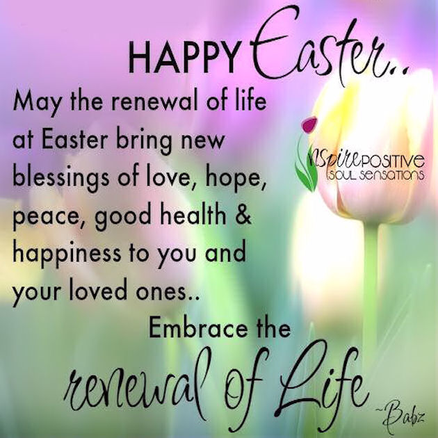 Happy Easter Blessings Image Picture for Familly Loved ones