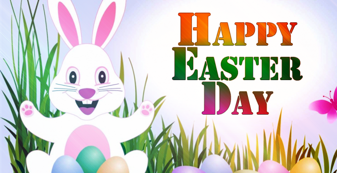 Happy Easter Day Pictures Bunny Images for Facebook, Whatsapp, Pinterest