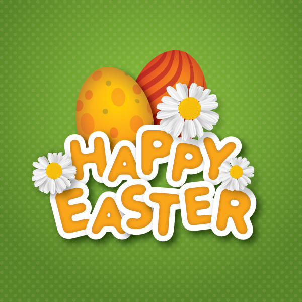 Happy Easter Flowers Images Picture