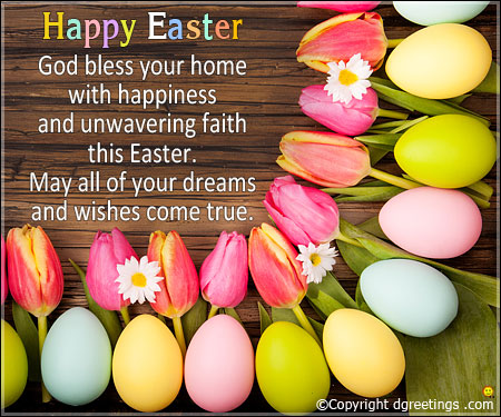 Happy Easter Greetings Quotes Pictures to Share