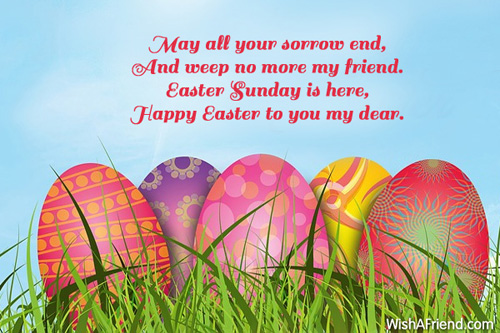 Happy Easter Greetings with Quotes Images