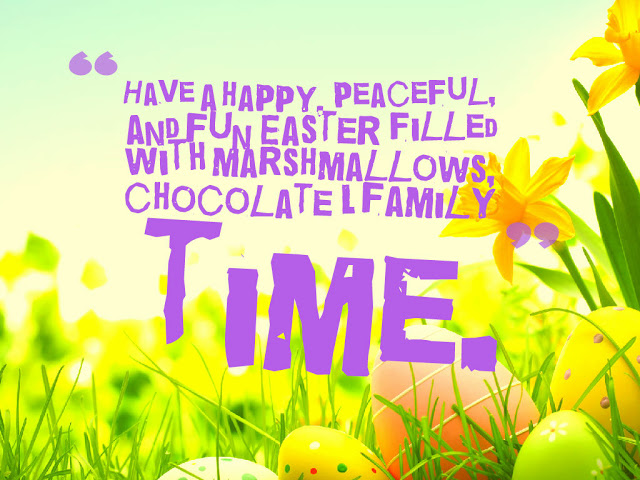 Happy Easter Images with Quotes Saying