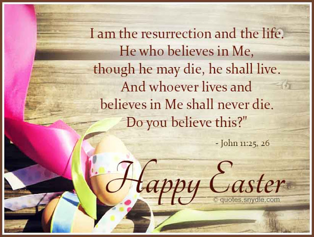 Happy Easter Quotes Bible Verse Sayings