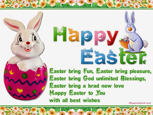 Happy Easter Quotes Images Blessings Bunny Pictures for Facebook, Whatsapp