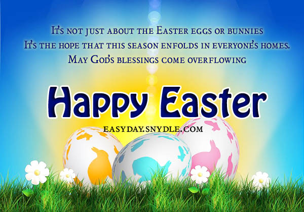Happy Easter Quotes, Wishes and Blessings Photo Download online