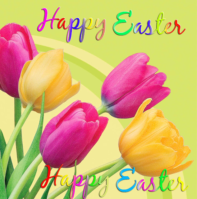 Happy Easter Sunday Weekend Flowers Images Profile Pictures