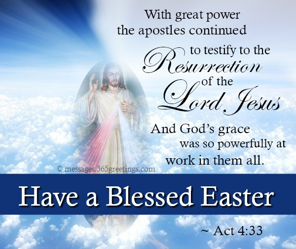 Have a Blessed Easter Lord Jesus Verses Images Picture
