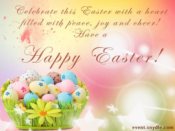 Have a Happy Easter Greetings Eggs Wishes Quotes