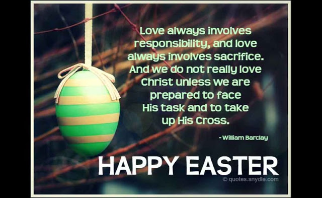 Inspirational Christian Happy Easter Quotes Images