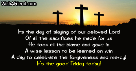 It's the Good Friday Today Images Quotes To Share