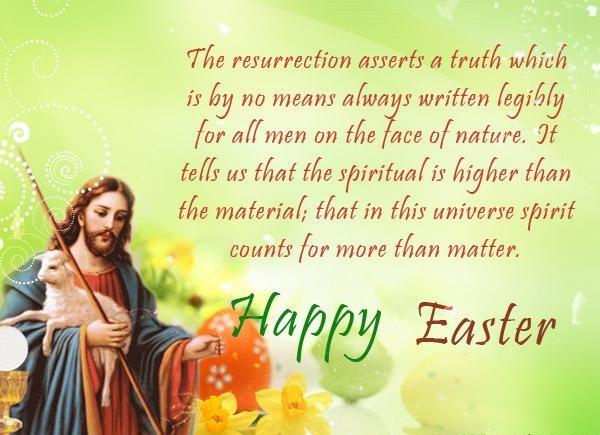 Religious JESUS Happy Easter Quotes Bible Images