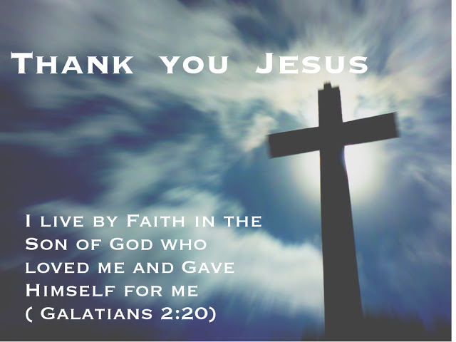 Thank You JESUS Good Friday Message Prayer Picture